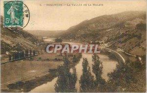 Old Postcard Besancon La Vallee de Malate