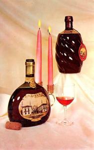 Wine and Liquor Advertising Old Vintage Antique Post Card Mateus Unused
