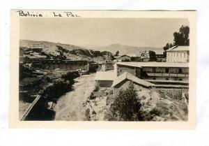 RP,Serial# H-224 Bolivia - La Paz,Some Of The Homes In The Outlying Section O...