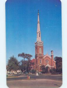Unused Pre-1980 CHURCH SCENE Augusta Georgia GA A7306