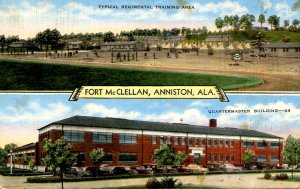 AL - Anniston. Fort McClellan. Training Area, Quartermaster Bldg