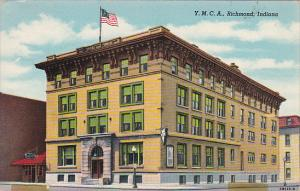 Indiana Richmond Y M C A Building 1946 Curteich