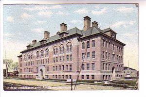 Dorchester High School, 1909, Massachusetts, Flag Cancel