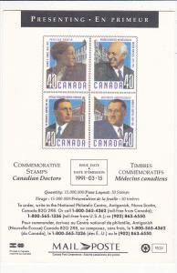 Canadian Doctors 1991 Canada Post Corporation