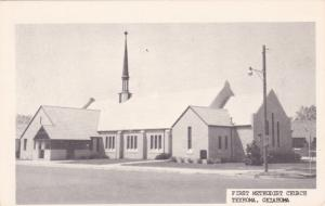 TEXHOMA , Oklahoma, 1940-60s ; First Methodist Church