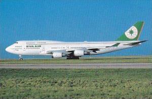 EVA AIR BOEING 747-45E