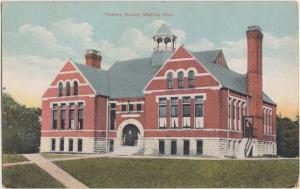 Ohio Postcard MEDINA County 1924 PRIMARY SCHOOL Building
