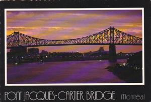 Canada Pont Jacques-Cartier Bridge Montreal