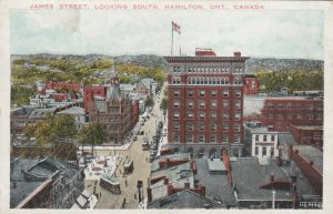 HAMILTON , Ontario , 1900-10s ; James Street, Looking South, Trolleys andygod62