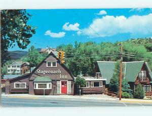 Pre-1980 STAGECOACH INN RESTAURANT Manitou Springs Colorado CO s8455