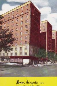 Exterior, Manger Annapolis Hotel, Washington,DC,40-60s