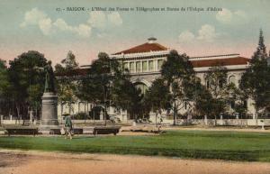 CPA Vietnam Indochine - Saigon L'Hotel des Postes et Télegraphes (84977)