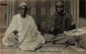 CPA AK Dakar- Tailleur et Dévideuse Senegalais, SENEGAL (762117)