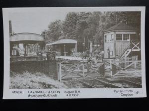 Baynards Station (Horsham/Guildford) - Pamlin Imprimé Carte Postale No.M3266