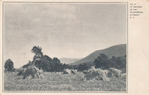 At Foot of Helderberg Mountains - Altamont, Albany County NY, New York - UDB