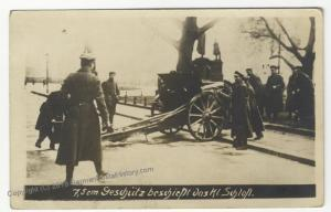 German Revolution 1919 Berlin Strassenkampf Freikorps Shelling Schloss RPP 51824