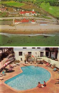 Santa Barbara California Mar Monte Hotel Vintage Postcard JA4741363