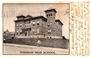 Connecticut Willimantic ,  Windham High School