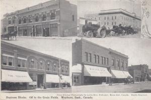WEYBURN , Saskatchewan , Canada , 00-10s ; 4 view postcard