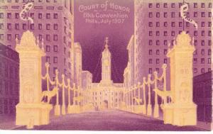 Court of Honor, Elk's Convention, Philadelphia, Pennsylvania, July 1907