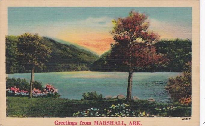 Arkansas Greetings From Marshall