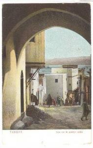Une Rue Du Quartier Arabe, Tanger, Morocco, Africa, 1900-1910s