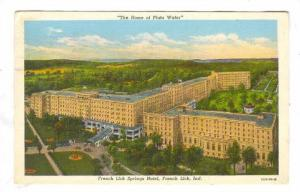Springs Hotel, French Lick, Indiana, PU-1943