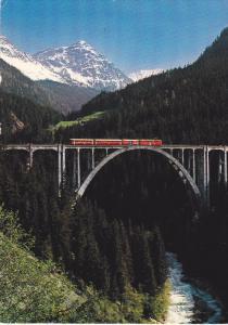 SWITZERLAND, PU-1984; Langwieser-Viadukt Der Rhatischen Bahn