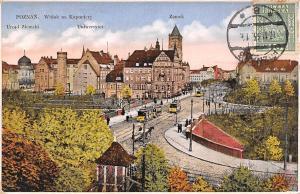 Poland Poznan Widok na Kaponiere Zamek 1933