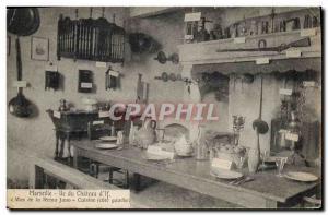 Old Postcard Marseille Ile du Chateau d & # 39If Mas of Reino Jano Kitchen