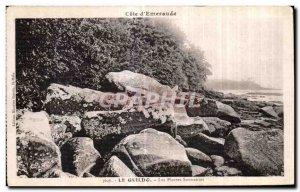 Old Postcard Cote d'Emeraude Saint Cast