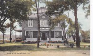 GANANOQUE, Ontario, Canada, 1900-1910´s; Alma Villa