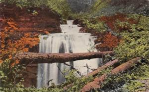 New York Falls At Ilion Gorge Near Utica