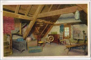 Attic,  House of Seven Gables, Salem MA