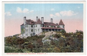 Newport, R.I., Indian Springs, The Busk Residence