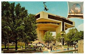 New York  Worlds Fair 1964 ,   Port of New York Authority Heliport , Exhibit ...