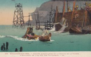 Postcards / Europe / France / Other  Boulogne Sur Mer Statue De La Vierge Arr...