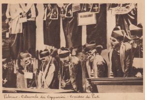 PALERMO , Italy , 30-40s ; Catacombe di Cappuccini - Corridoio dei Prets