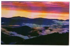 Sunset, Great Smoky Mt National Park