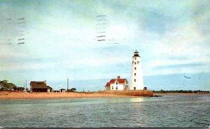 Connecticut Saybrook Point Inner Lighthouse 1955