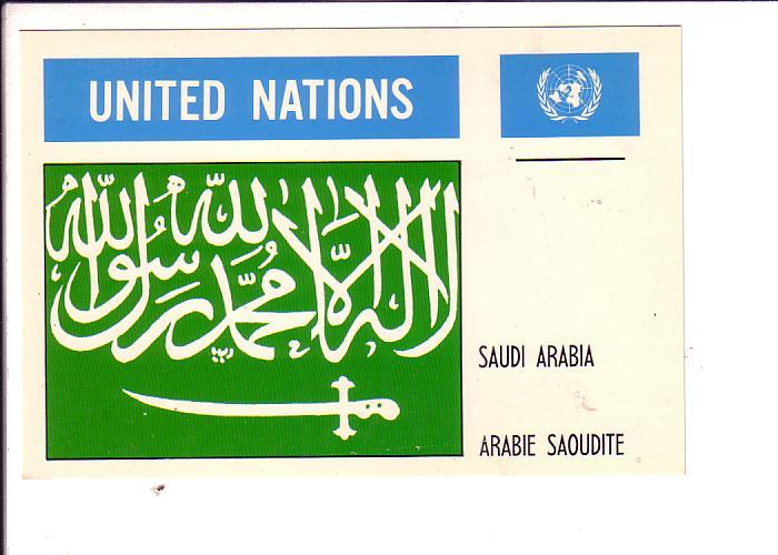 Saudi Arabia United Nations Flag
