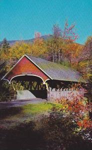 Flume Bridge, Franconia Notch, New Hampshire, 40-60s