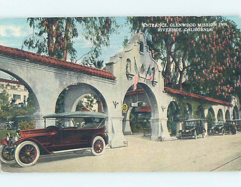 Unused Divided-Back POSTCARD FROM Riverside - Los Angeles California CA HM5710