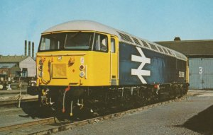 Class 56 no 56098 Train at Doncaster Station in 1981 Postcard
