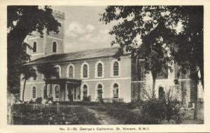St. Vincent, B.W.I., St. George's Cathedral (1930s)