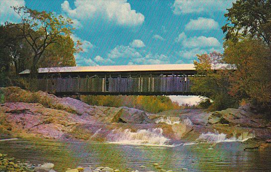 Covered Bridge At Swiftwater New Hamshire
