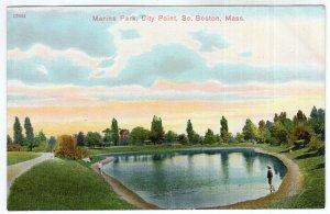 So. Boston, Mass, Marine Park, City Point