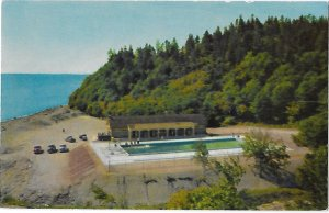 Fundy National Park Swimming Pool near Alma New Brunswick  Canada