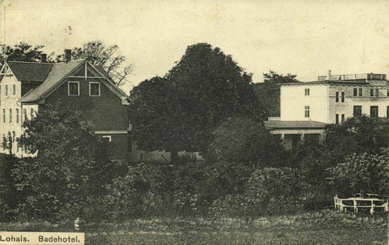 denmark, LOHALS, Langeland, Badehotel (1911) Postcard