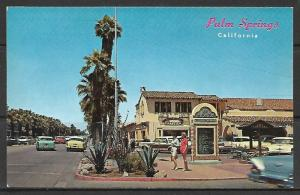 California, Palm Springs - Shopping Plaza